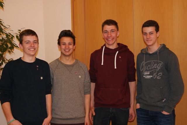 Thomas Rauscher, Simon Rauscher, Joachim Jeggle, Moritz Jäckle