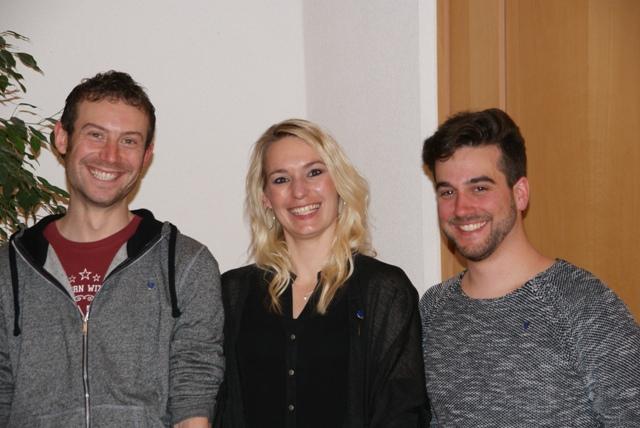 Jürgen Schmidberger, Stefanie Lutz, Markus Hermanutz